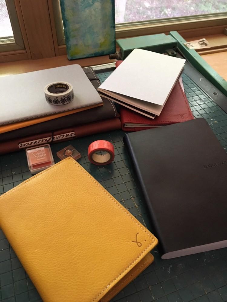 summer notebooking